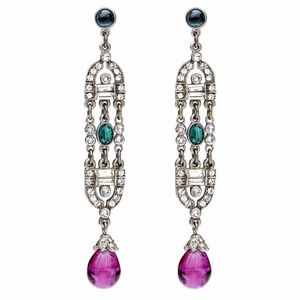 Ben-Amun Minnie Earrings